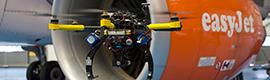 EasyJet utiliza la realidad aumentada y los drones para garantizar la seguridad y operatividad de su flota