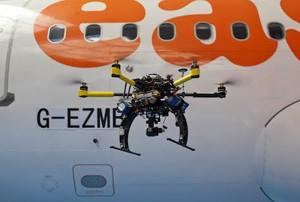 EasyJet utiliza drones