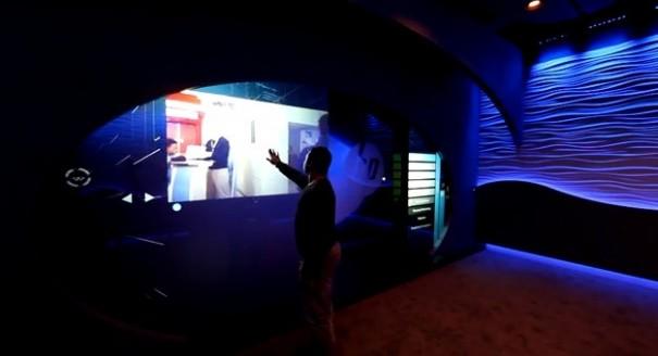 HP Enterprise Experience Center Blue innovation room