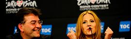 Los micrófonos de DPA acompañaron a los participantes de Eurovisión en sus ruedas de prensa