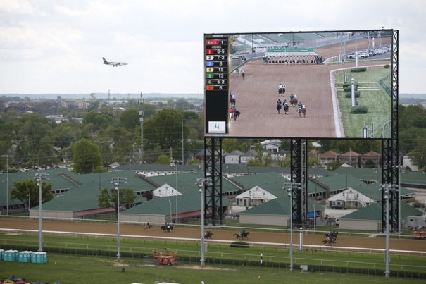 Pantalla 4K Panasonic Churchill Downs