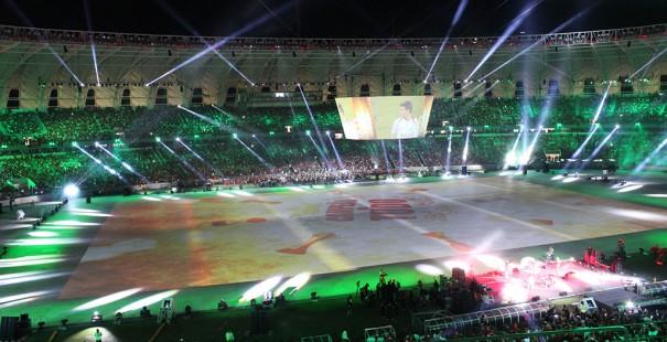 Robe inauguracion Estadio Beira Rio