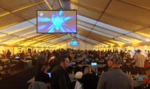 Sala de prensa Eurovision 2014 (Foto FormulaTV)