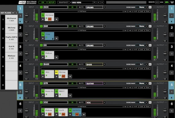 SoundGrid MultiRack Software Neotecnica