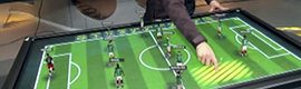 Televisa will use an interactive table to analyze in real time the moves of the Brazil World Cup matches