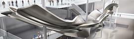 La tecnología 3DExperience de Dassault Systèmes ayuda a construir la escultura Slipstream de la Terminal 2 de Heathrow