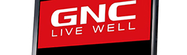 GNC selects the cloud solution for digital signage TripleLite for its stores in Turkey