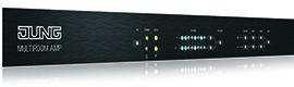 Amplificador Jung KNX Multiroom para la distribución del sonido en oficinas y comercios