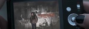 El Muro de Berlín se ilumina con imágenes proyectadas para promocionar sus museos