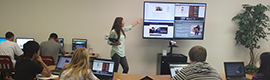 Boat ClickShare encourages collaboration in the classrooms of the San Diego Charter School