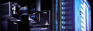 Christie y D3D Cinema realizarán la primera proyección láser 6P en la pantalla gigante del Moody Garden MG3D
