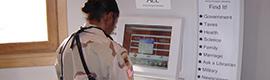 PIK y Liverwire instalan kioscos interactivos en las bases militares americanas de Afganistán y Kuwait