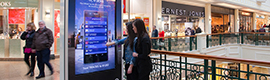 MediaCom and Clear Channel tested the Dooh Vukunet platform in shopping centers in United Kingdom