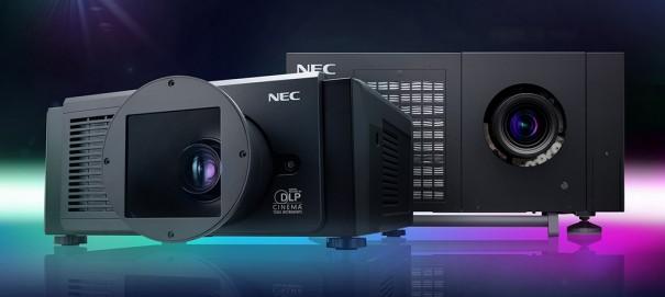 NEC proyectores NC1100L y NC1040L