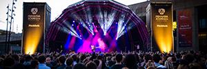 Primavera Sound 2014 ha brillado con las luces de Robe y Vari-Lite en el escenario Pitchfork