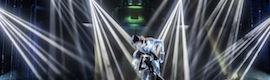 Los focos Robe Pointe iluminan la creación 'futurista' del musical 'A Marte Cabaret'