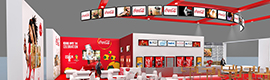 Coca-Cola Lounge will take, at the hands of YCD Multimedia, digital signage CineEurope 2014