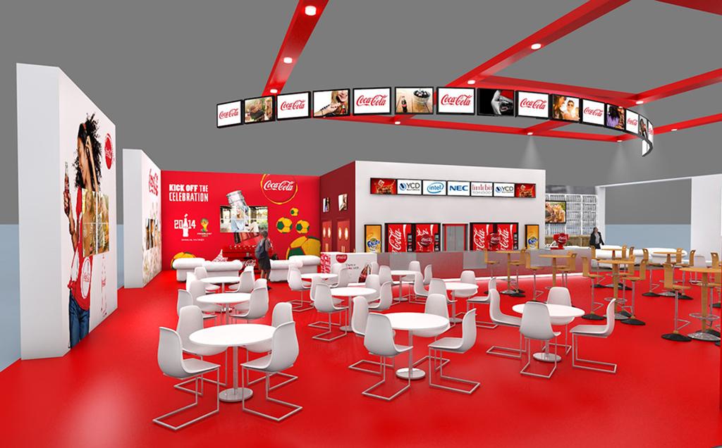Salon de coca cola aura aux mains de ycd multimedia for Salon du digital