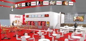 站在可口可乐CineEurope2014