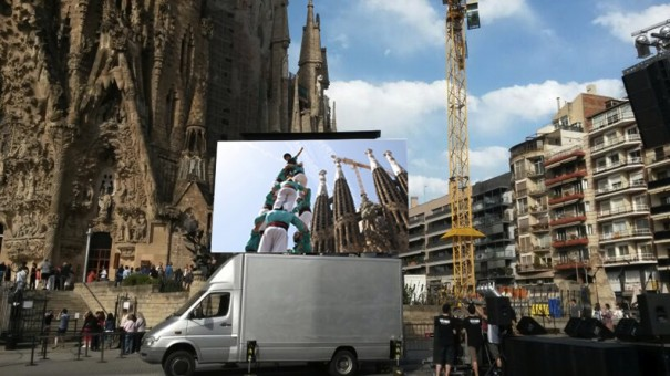 Stereo Rent camion pantalla