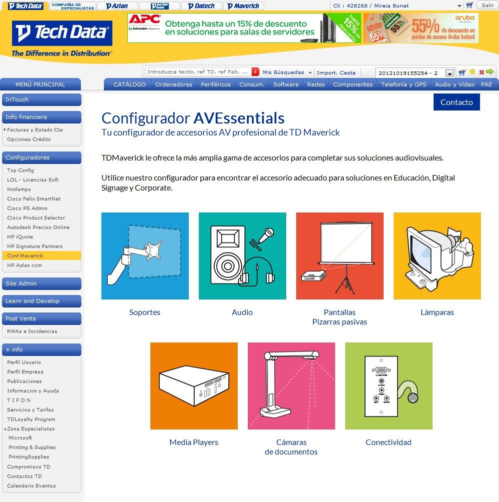 Avessentials nuevo configurador online para for Distribuidores online