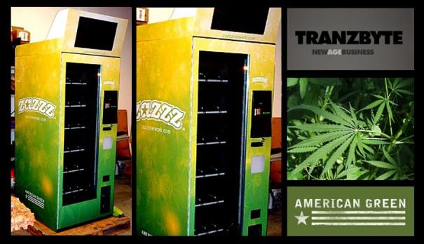 Tranzbyte kiosco de vending marihuna ZaZZZ