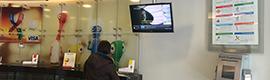 El BCI utiliza la solución de cartelería digital de Wavetec para optimizar la atención al cliente