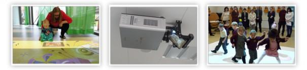 WizeFloor y Panasonic hospital dinamarca 2