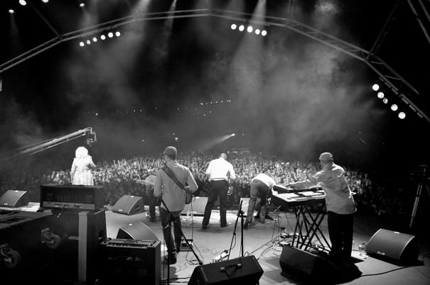 db en el Festival Oppikoppi de Sudafrica