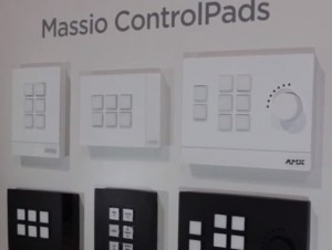 AMX ControlPad Massio