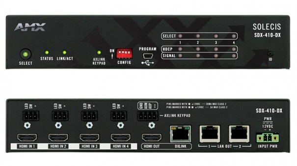 AMX Selector Digital Solecis