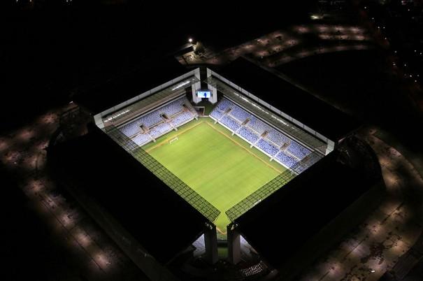 DS de Panasonic y Cayin en Arena Pantanal Stadium