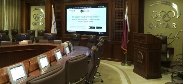 Arthur Holm Comite Olimpico Qatar