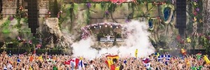 The Canon imaging technology joins Wim Tellier in Tomorrowland music festival