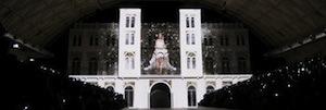 Eikonos realiza una espectacular proyección de mapping en 3D para el 50º aniversario de Pronovias