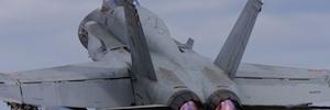 La USAL colabora mediante técnicas de realidad aumentada en el mantenimiento de los F-18 del ejército