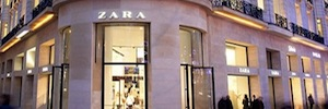 The Zara chain bets on the RFID technology of Tyco's intelligent in seven hundred points of sale inventory