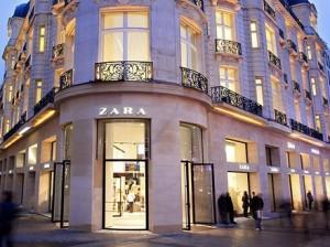 Inditex tienda Zara etiquetas Tyco