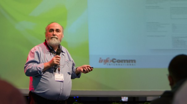 InfoComm Terry Friesenborg ISE2015