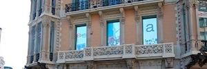 Asefa Seguros utiliza las pantallas de LED&GO como herramienta de comunicación de marca