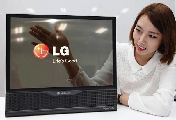 LG prototipo pantalla transparente