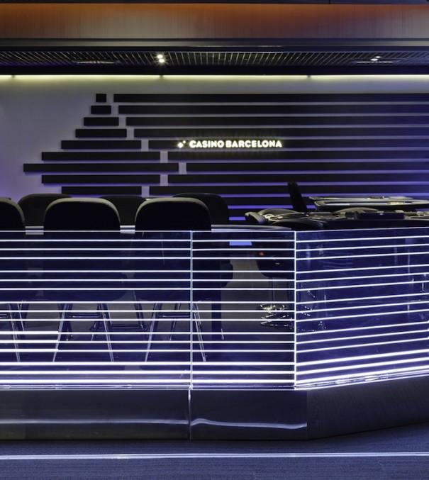 LedGlass Casino de Barcelona