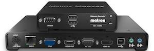 Nuevo software, firmware y API para los codificadores/decodificadores Matrox Maevex H.264