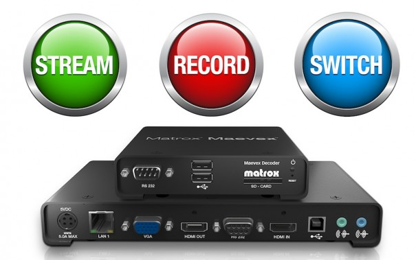 Matrox Maevex H264 codificador