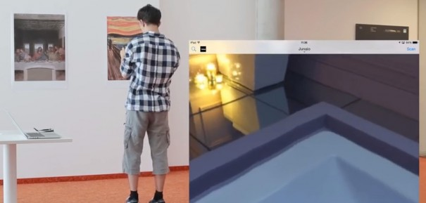 Metaio 6D Holodeck
