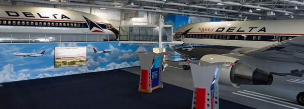 NanoLumens Delta Flight Museum