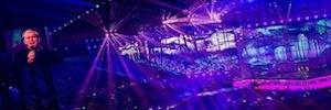 La experiencia audiovisual de Panasonic y AV Centre estuvo al servicio de Eurovisión 2014
