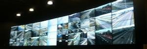 La última tecnología videowall de Panasonic ayuda a monitorizar a Brisa las autopistas de Portugal