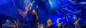 La gira europea '14 On Fire' de los Rolling se ilumina con sistemas Robe Pointe