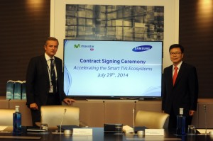 Samsung y Telefonica Smart TV